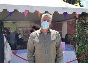 Christophe BOUTON, bénévole et animateur du Festival