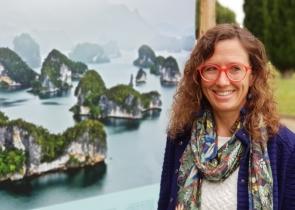 Elodie MAGNANOU, chercheuse au CNRS