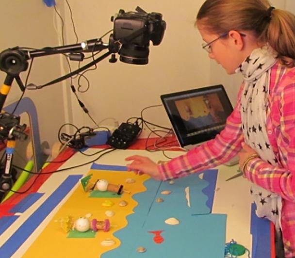 Atelier découverte du cinema d'animation