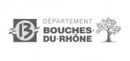 Logo Bouches du Rhône