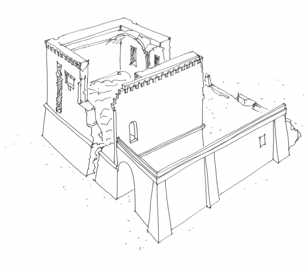 Un belvédère pour le château de Tourvieille