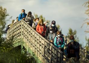 sortie nature - pont de gau