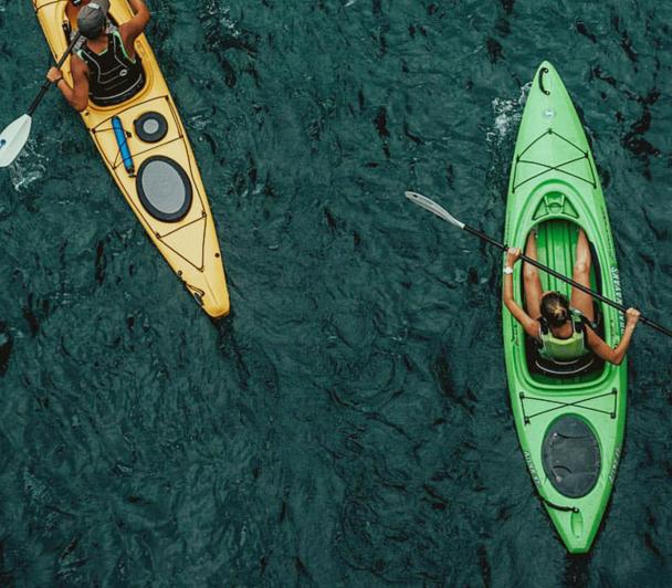 Balade en kayak au fil de l'eau
