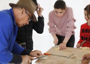 atelier sculpture sur bois 2019