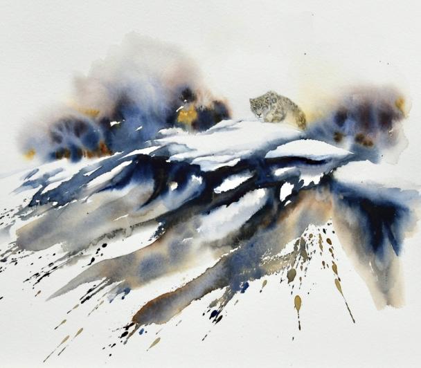 Tibet, les dernières panthères des neiges de Yves FAGNIART