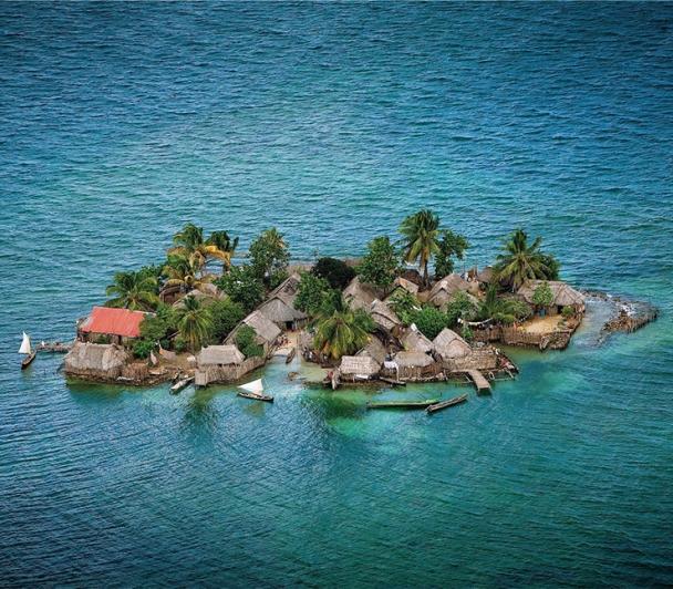 îles, explosion de vie